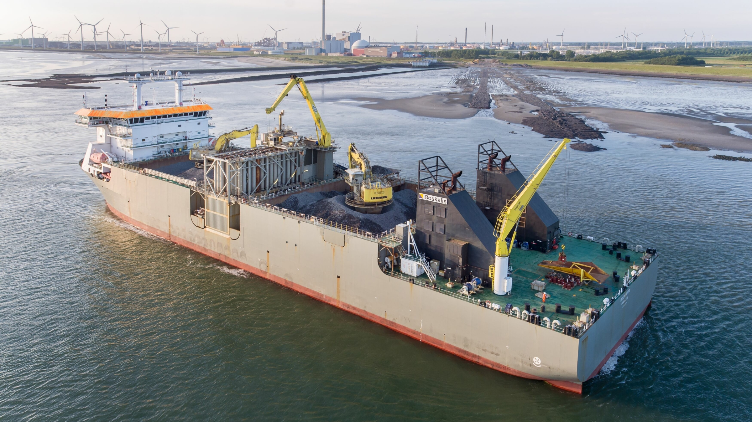 Consortium of Boskalis, Bouygues and Saipem selected for Fecamp Offshore Wind Farm foundations