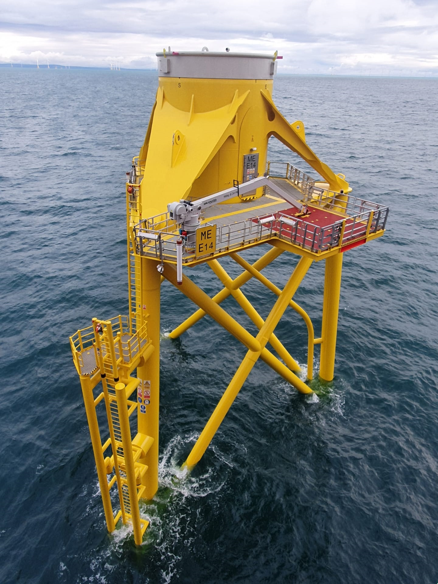 First jacket successfully installed at Moray East, Scotland's largest offshore wind farm