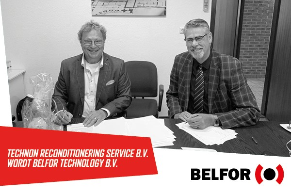 Technon Reconditionering Service BV wordt BELFOR Technology BV