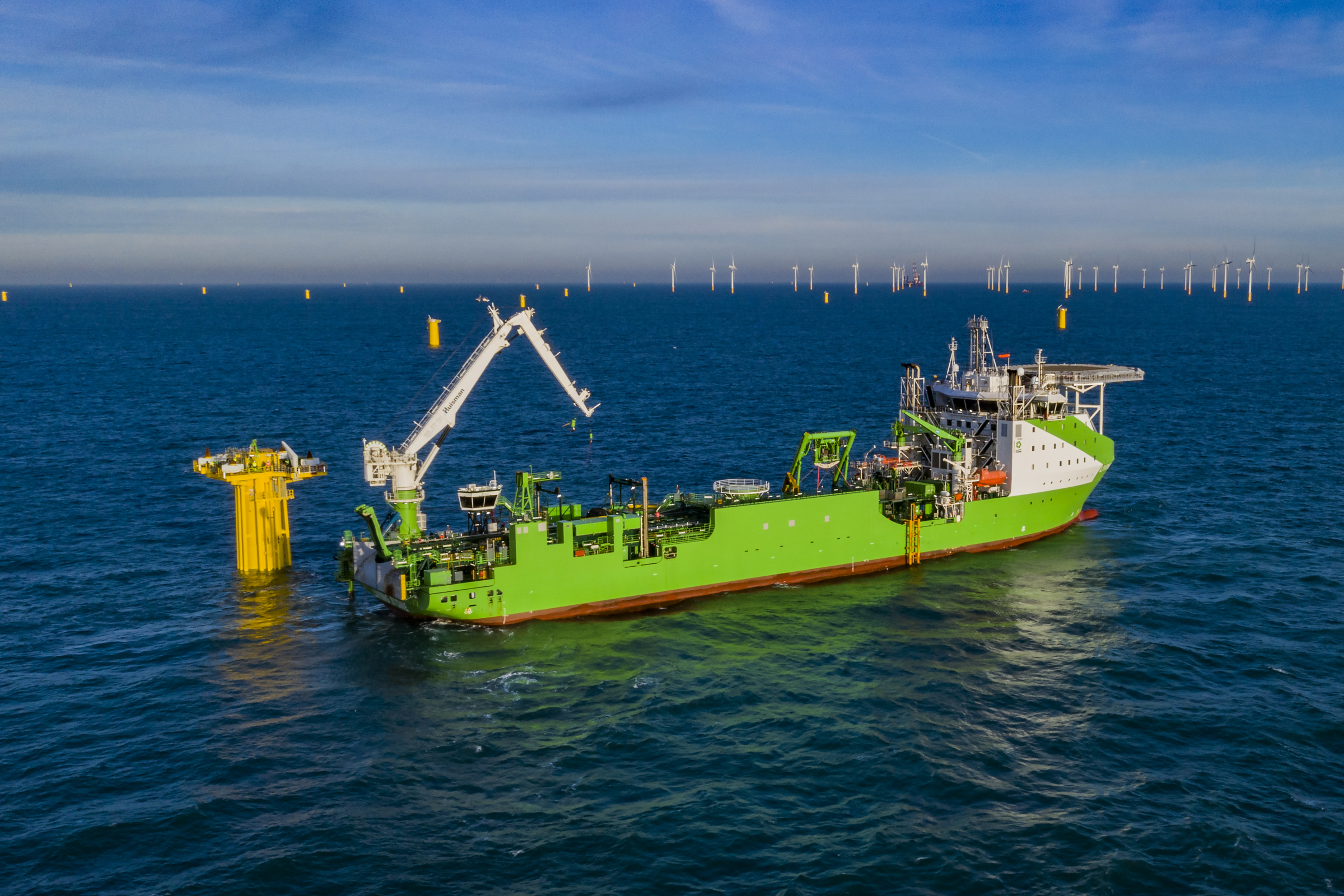 DEME Offshore signs contract for largest ever inter-array cable order with Dogger Bank Wind Farm