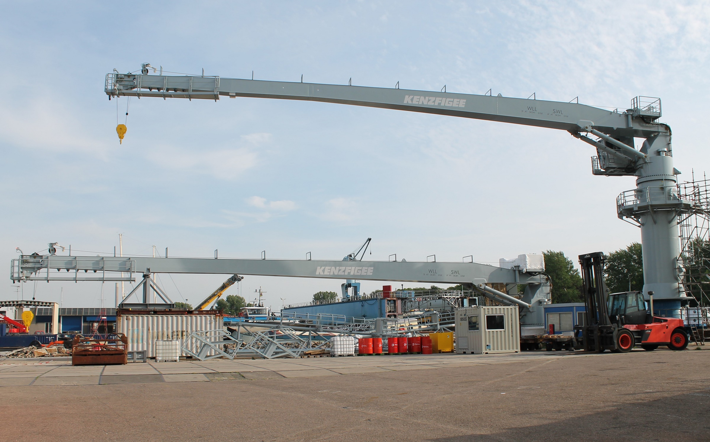 KenzFigee to supply two ammunition handling cranes to defence infrastructure organisation (DIO), UK