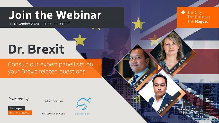 BREXIT webinar: Wednesday 11 November, 10:00-11:00 CET