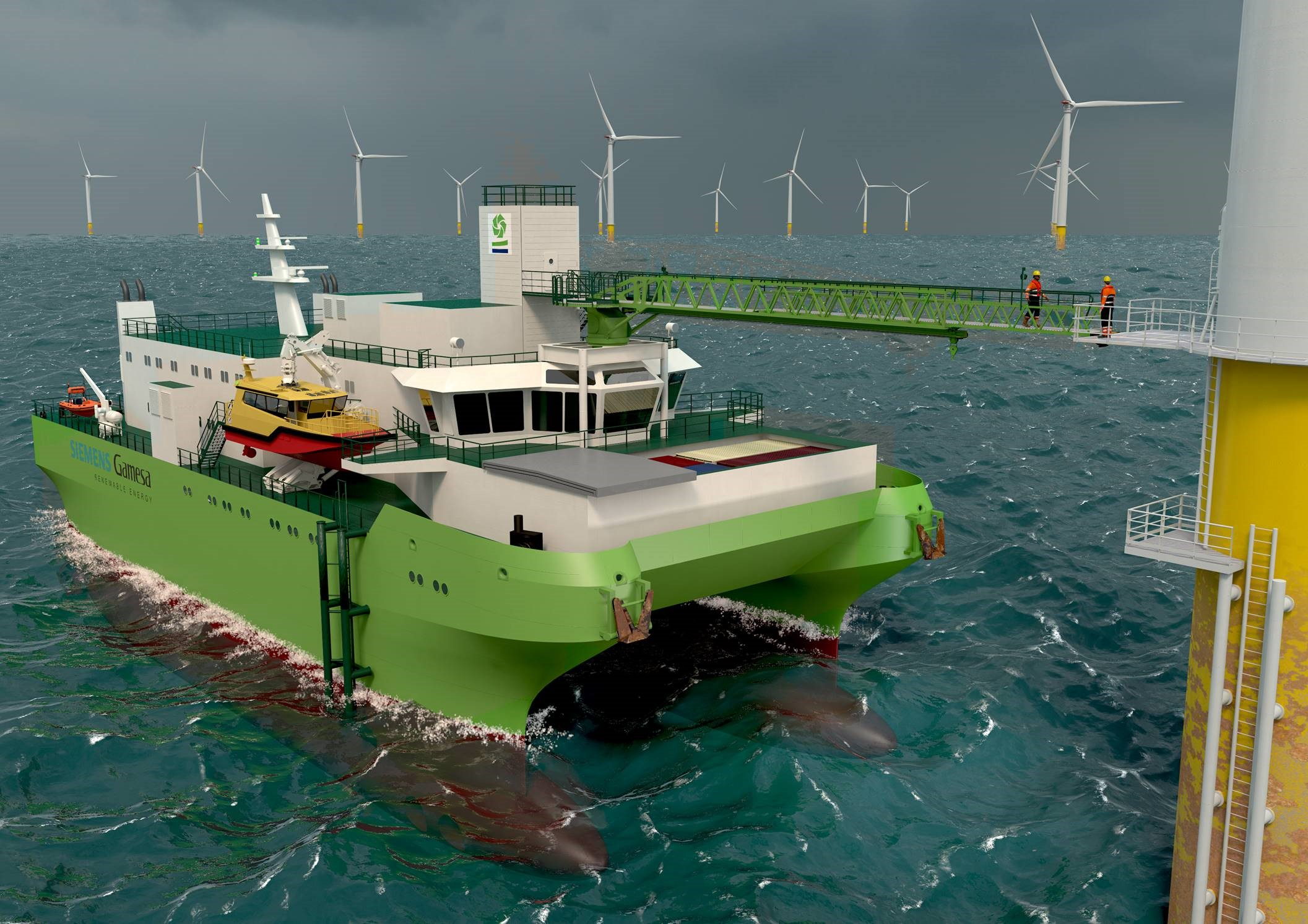 SMST's offshore access and lifting in one for DEME