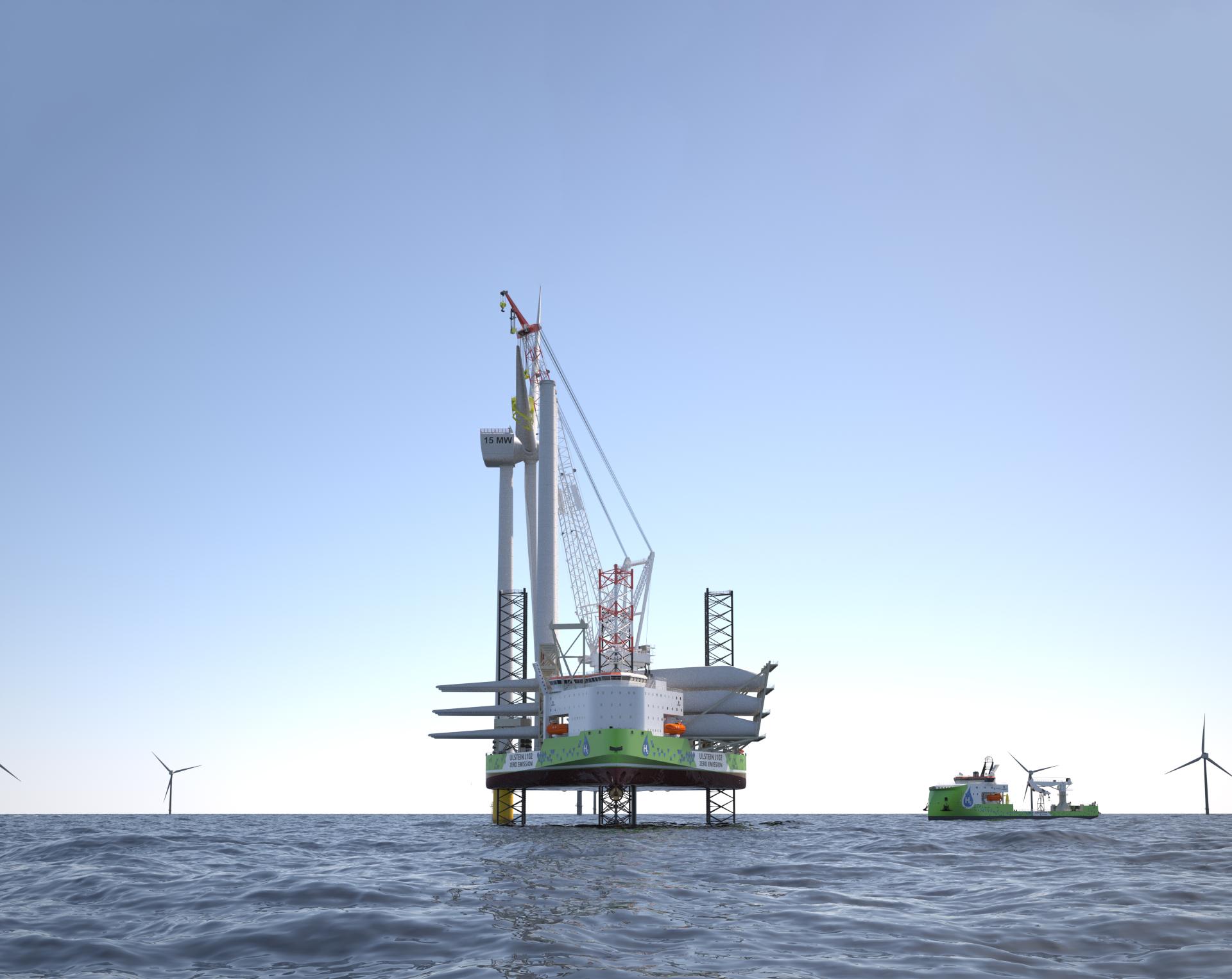Zero-emission turbine installation is today's reality