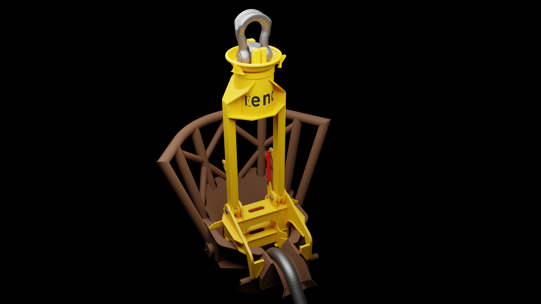 Van Oord selects KENC Engineering for design lifting tool Saint-Brieuc OWF