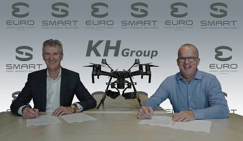 KH Group & Smart AIS expand with drones from Euro Drone Inspections
