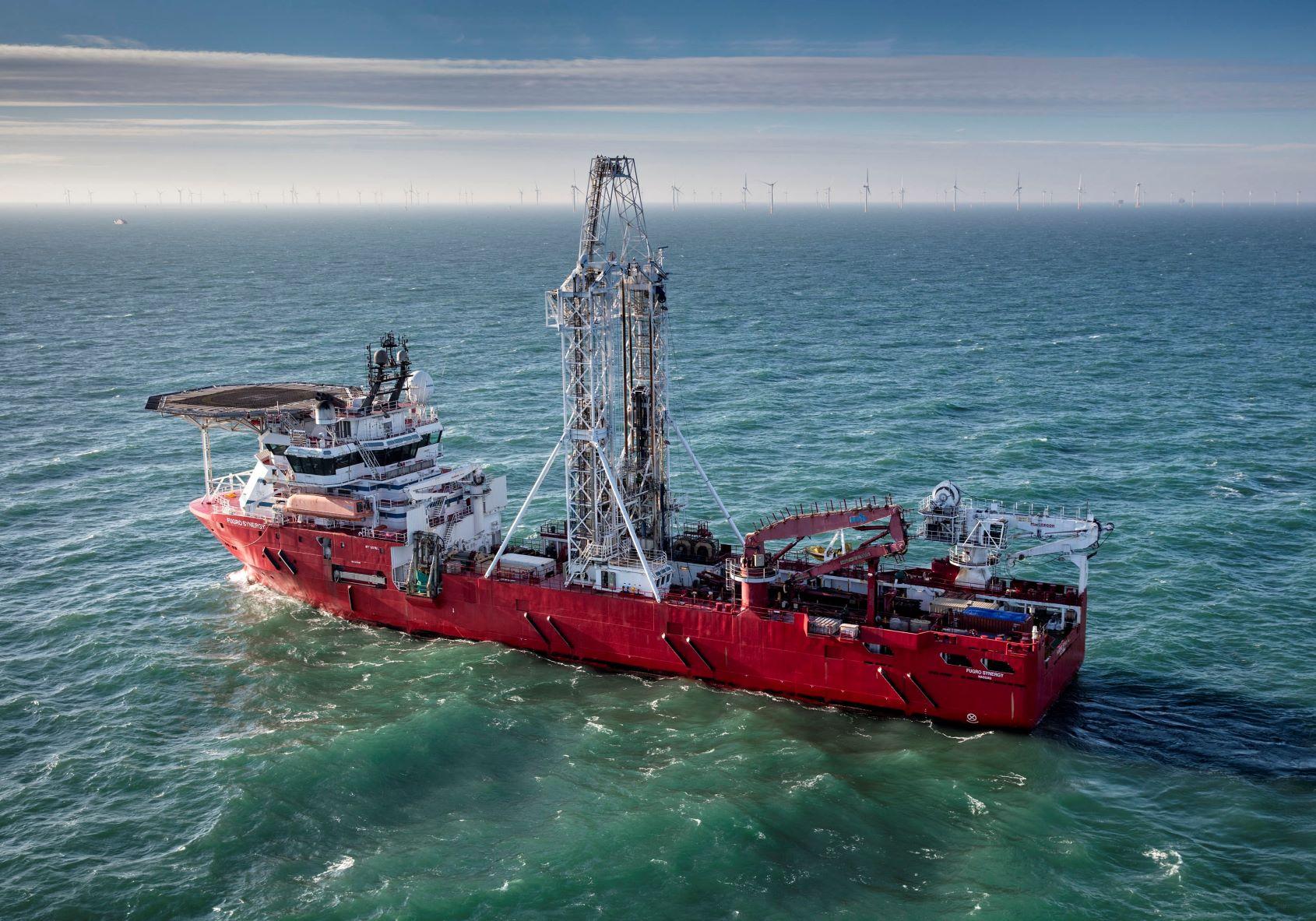 Fugro wins three site investigation contracts for IJmuiden Ver offshore wind farm zone
