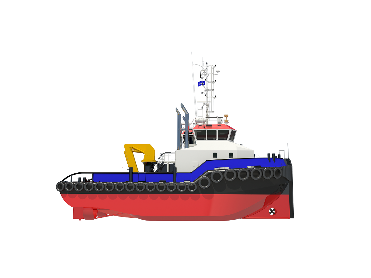 Damen signs with Ports of Jersey for Shoalbuster 2711