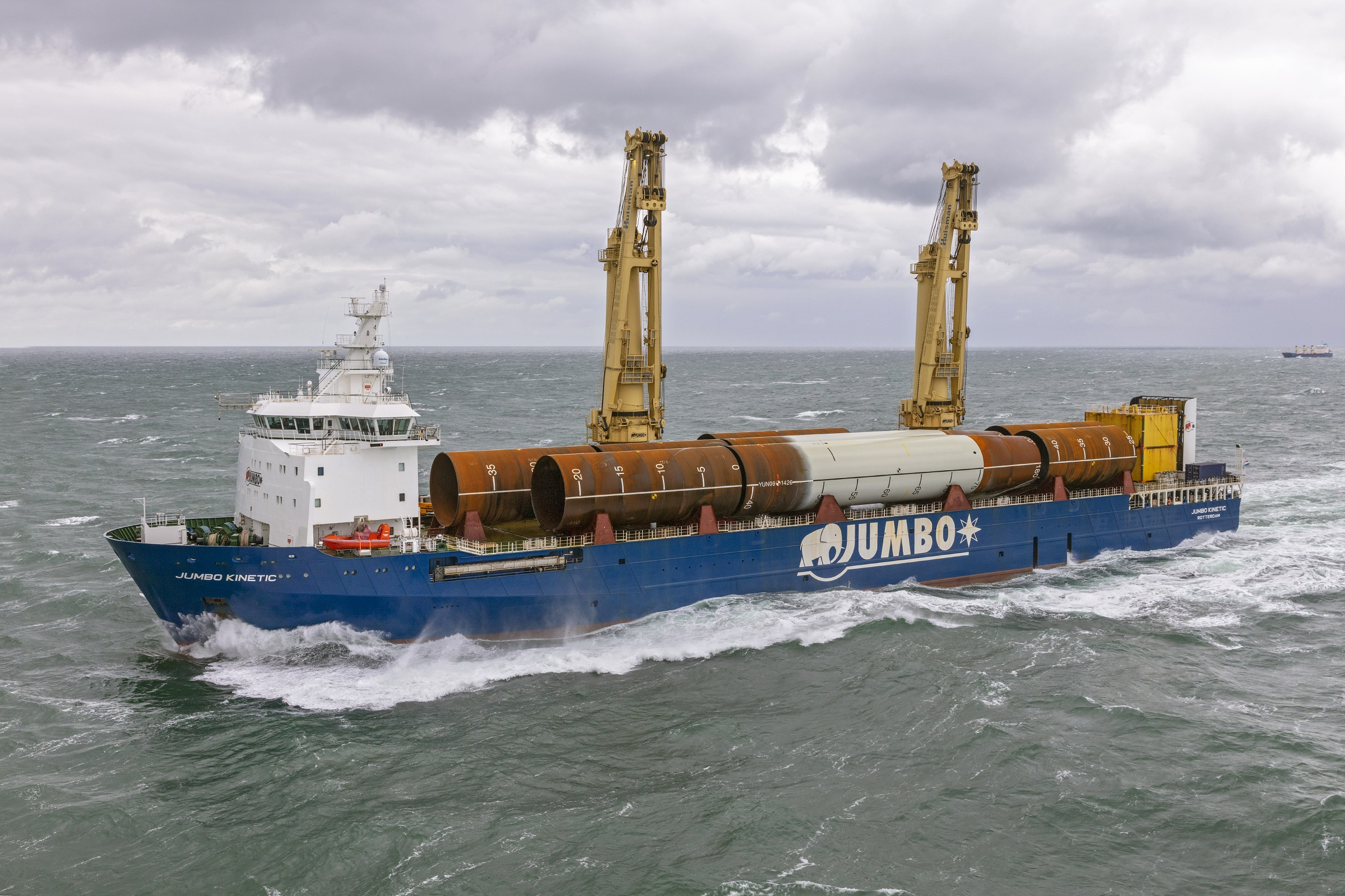 Jumbo shines as Tier I contractor during Yunlin transport scope