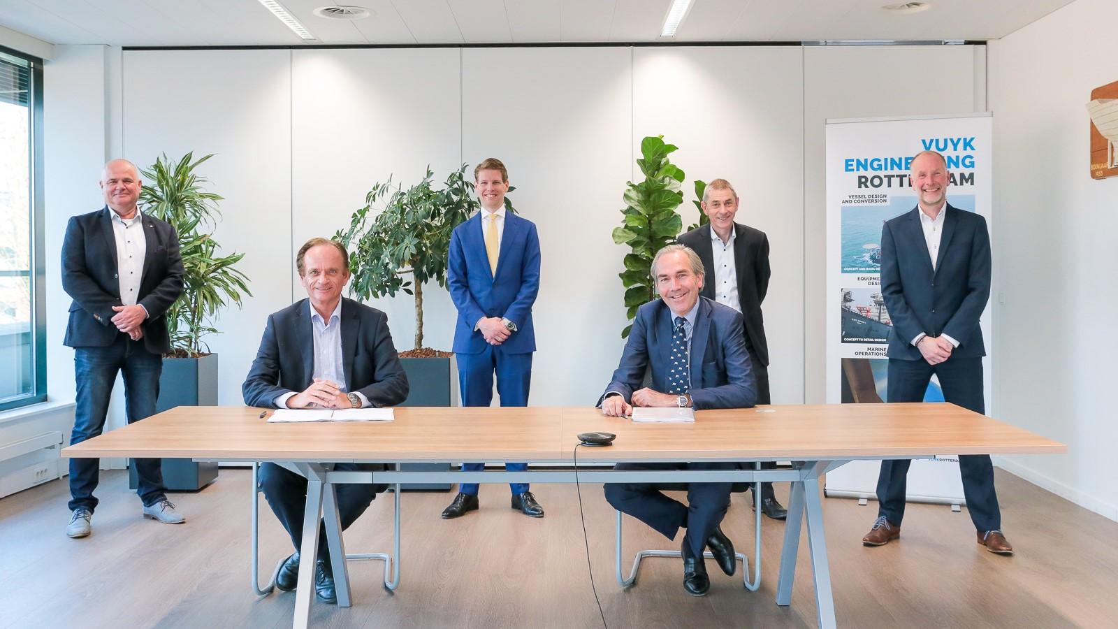 Royal Doeksen takes over Vuyk Engineering Rotterdam from Royal IHC