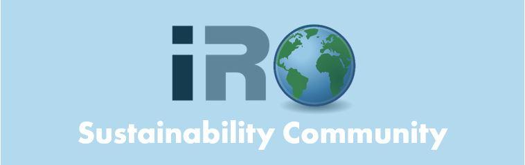 Launch IRO Sustainability Community