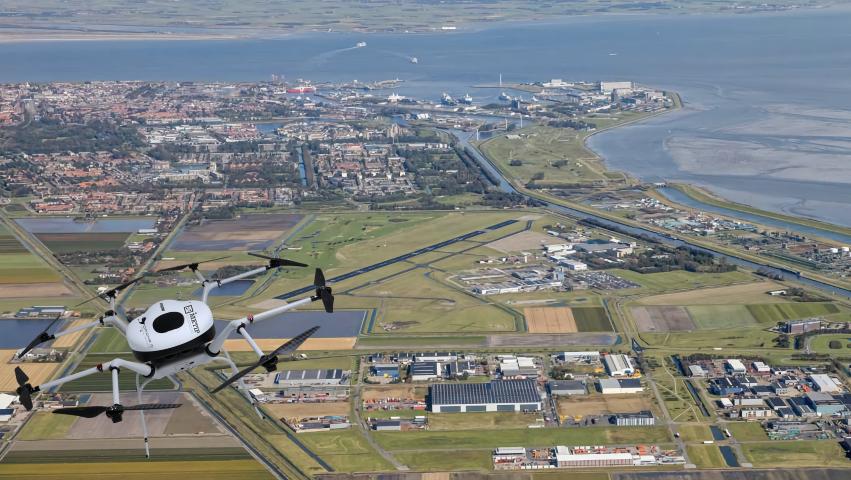 Koreaanse maritieme waterstof brandstofcel-drones betreden de Europese markt via Nederlandse Gateway
