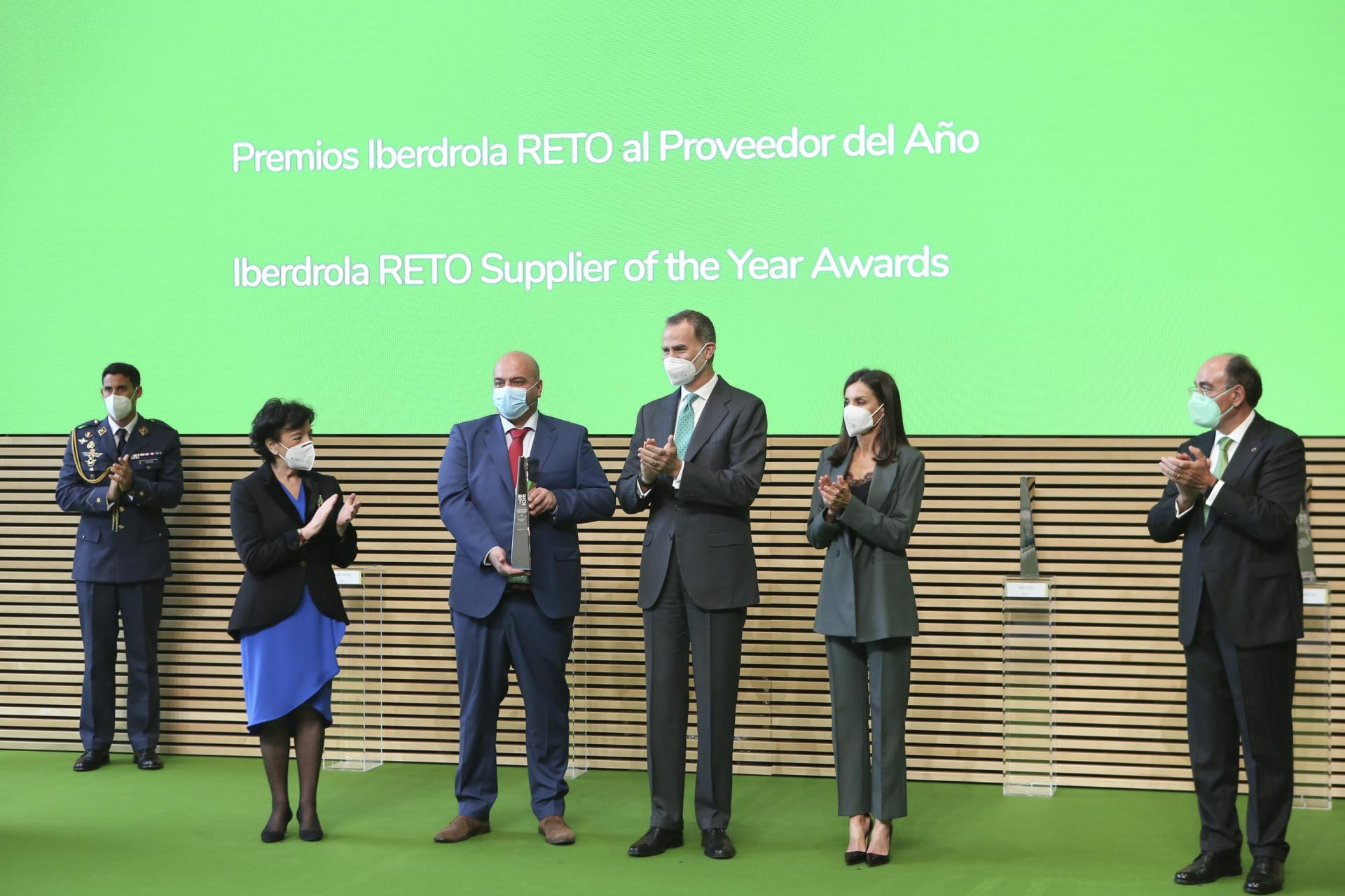 Van Oord receives 2021 RETO award for Iberdrola supplier of the year