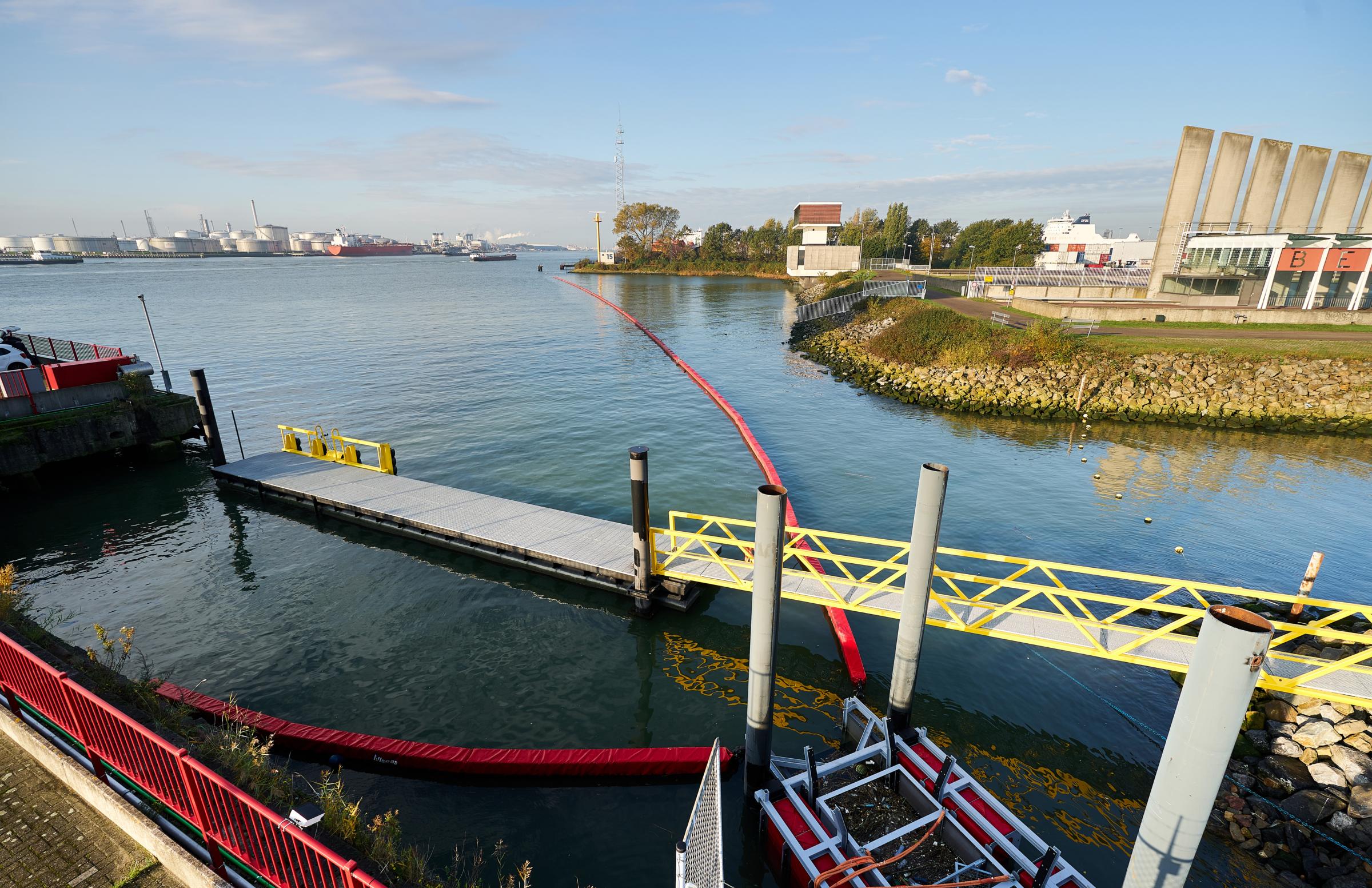 Allseas river plastics removal project