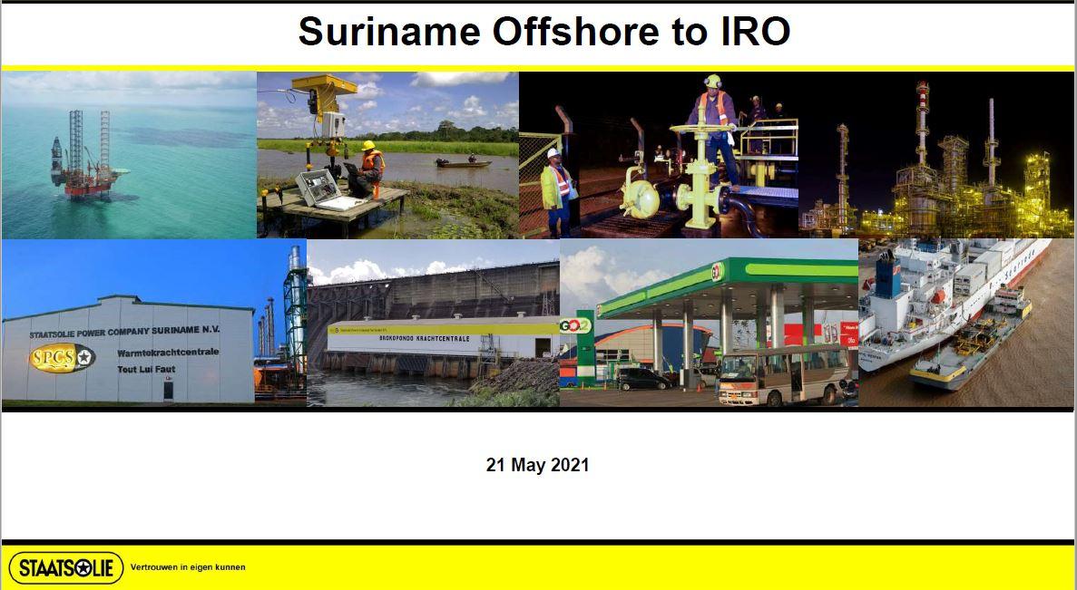 Presentatie webinar Staatsolie Maatschappij Suriname