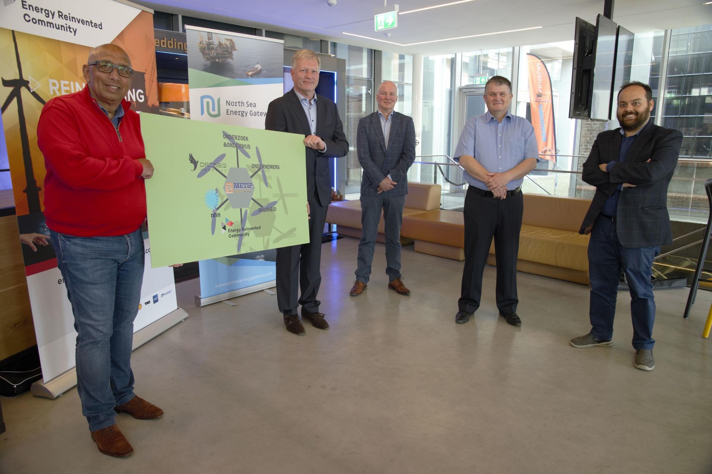 Digitale- en robottechnieken voor de energiesector op de Noordzee
