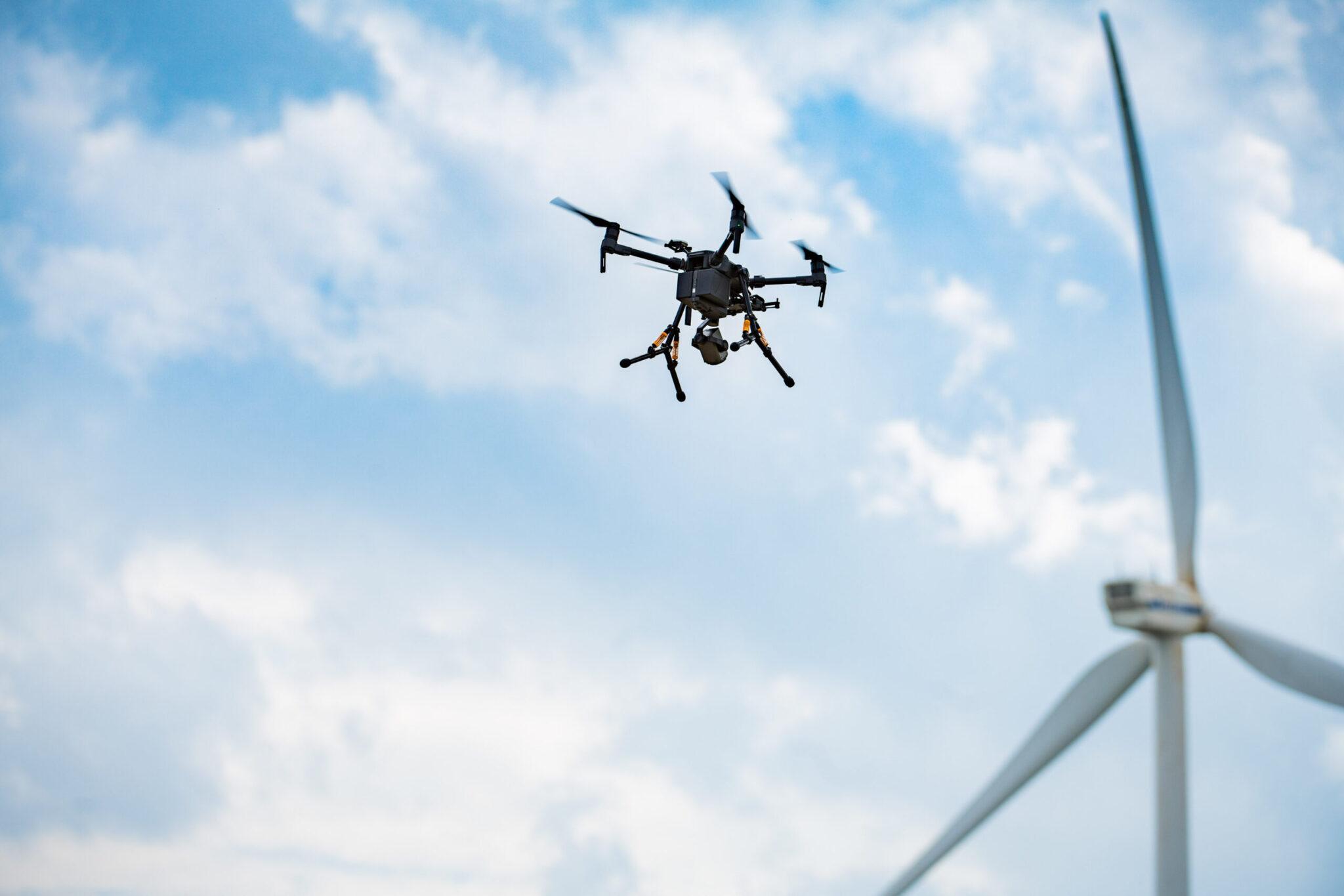Samenwerking DroneQ Robotics, OWIC, Growind en Topwind