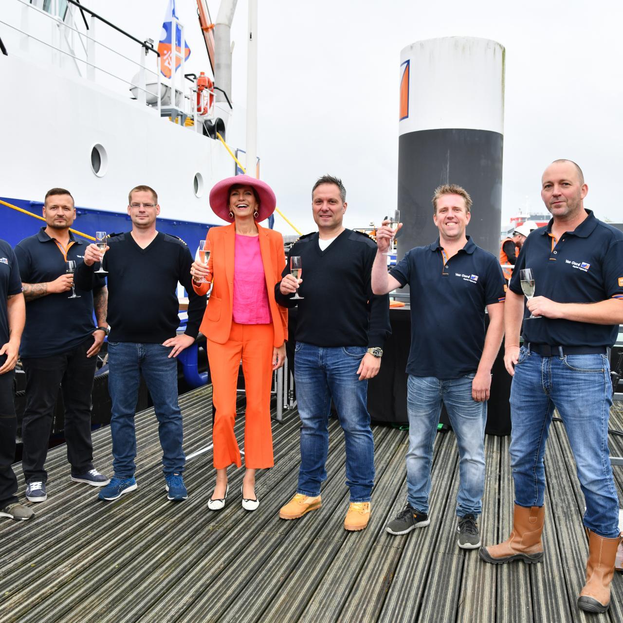 Van Oord held naming ceremonies for two hybrid water injection vessels