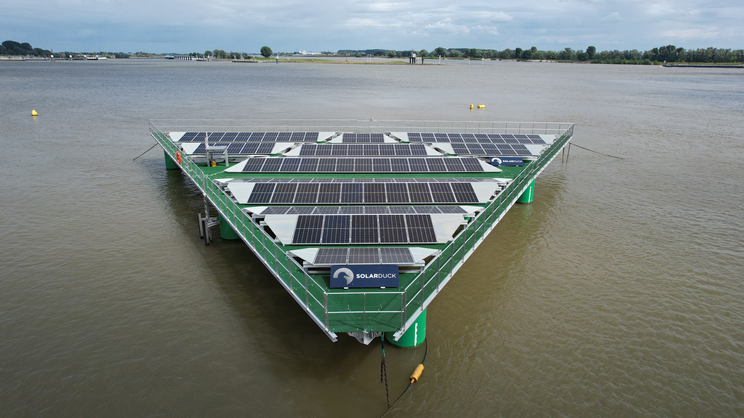 Bureau Veritas delivers world's first Approval in Principle for offshore floating solar technology to SolarDuck