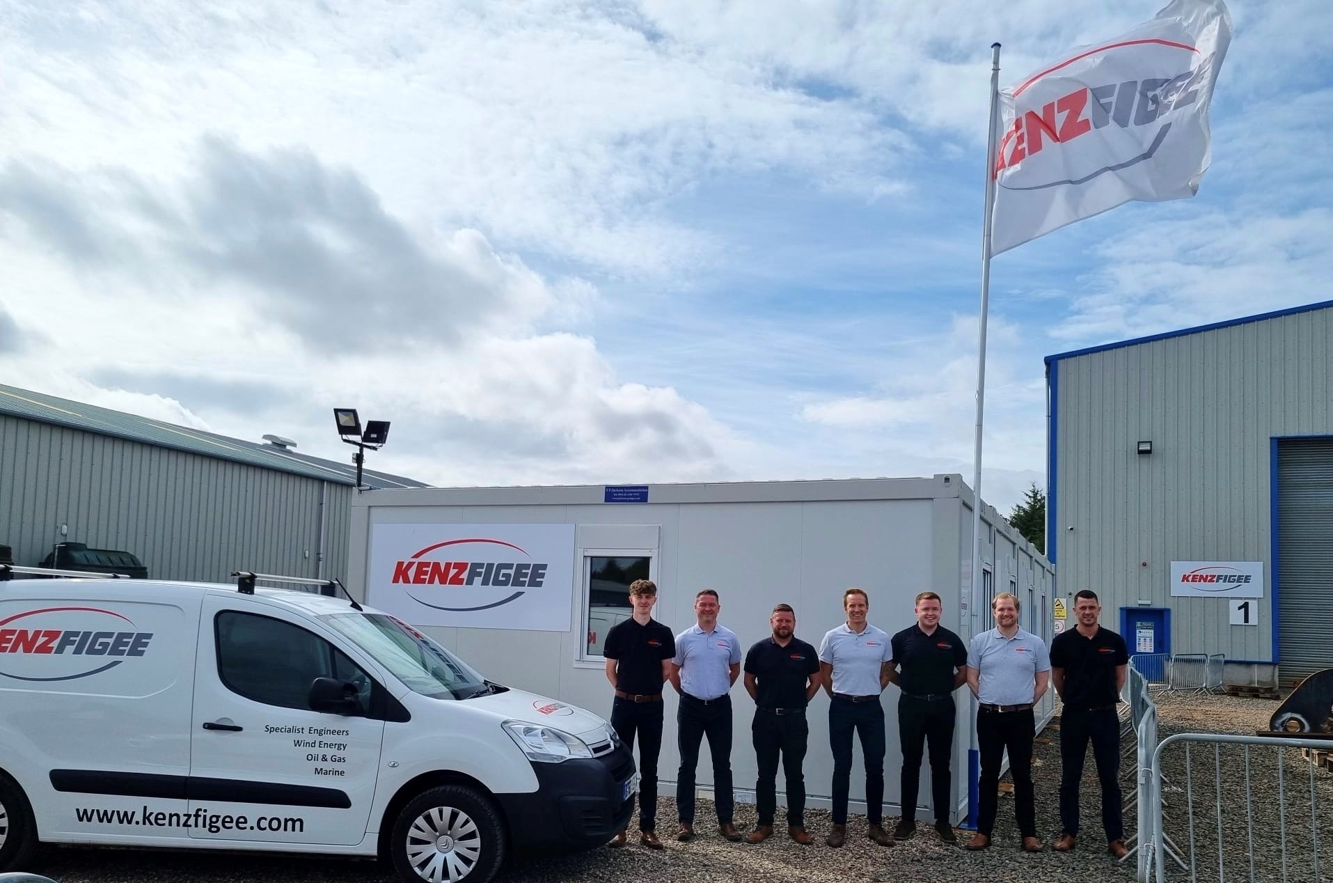 KenzFigee UK expand to new multi-purpose site
