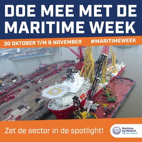 Doe mee met de Maritime Week 2021! (30 okt – 6 nov)
