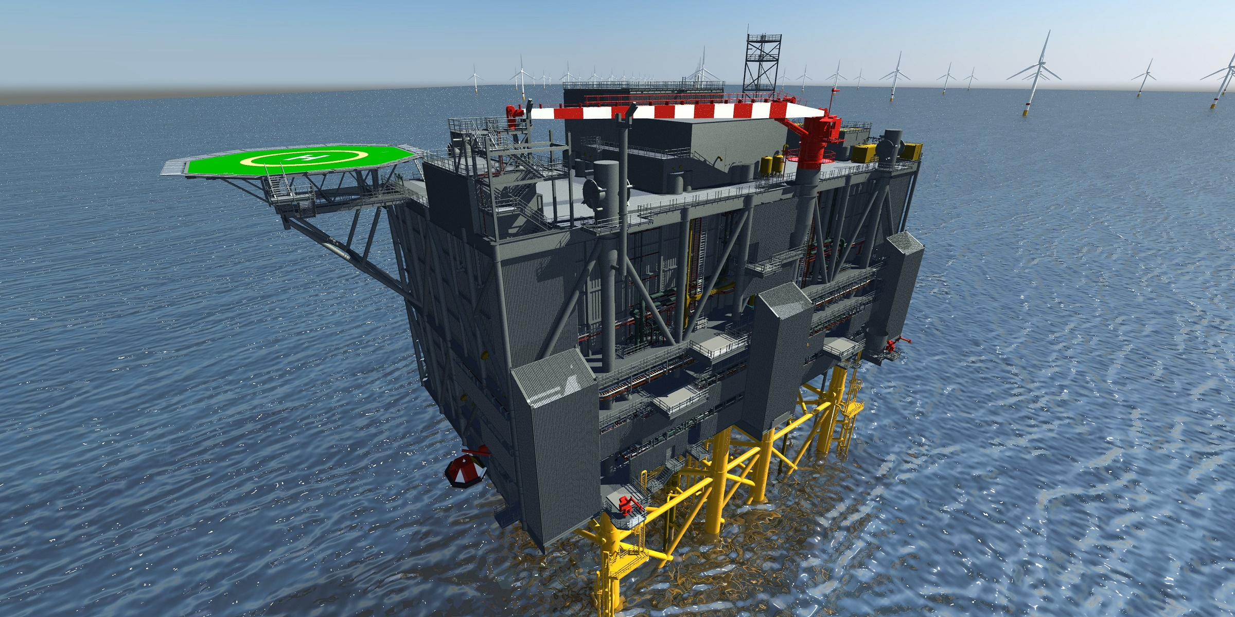 Iv-Offshore & Energy signed contract for Engineering & Procurement Offshore HVDC platform Sofia Wind Farm