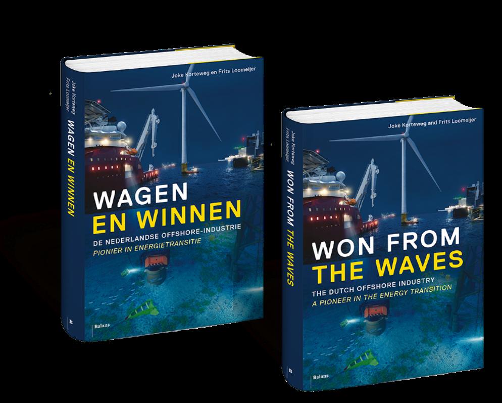 Bestel nu het boek over 50 jaar Nederlandse offshore! (alléén voor leden)