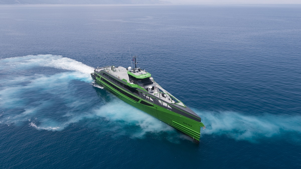Damen's revolutionary Fast Crew Supplier FCS 7011 completes sea trials and heads to the Netherlands
